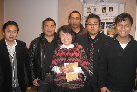 Passage de Sally, notre correspondante en Indonésie à Grenoble – Janvier 2009