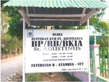 Projet de parrainage collectif à Atambua—TIMOR—Indonésie – 2015