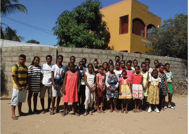 Madagascar: les enfants parrainés